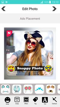 Snappy photo filters stickers screenshot 2