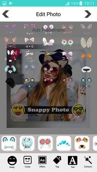 Snappy photo filters stickers screenshot 4