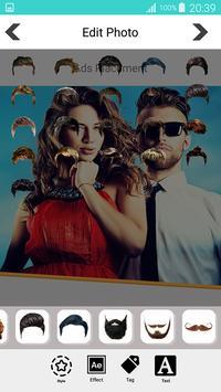 Woman and Men Hairstyle Photo Editor screenshot 4