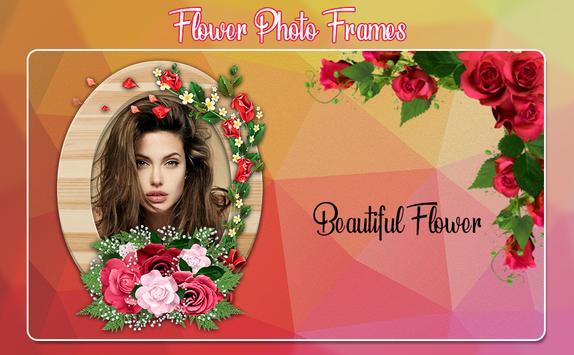 Flower Photo Frames 2019 screenshot 1