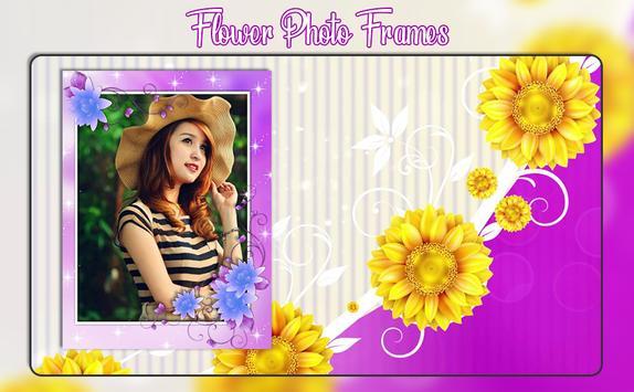 Flower Photo Frames 2019 screenshot 3
