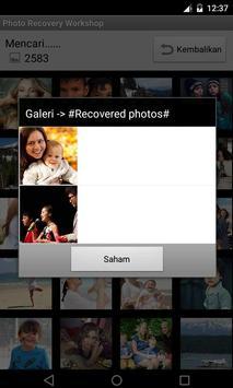 Foto Recovery screenshot 1