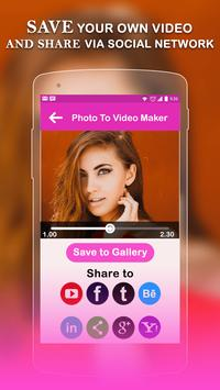 Photo Video Maker With Music-Movie Maker screenshot 5