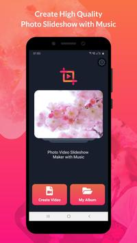 Photo Video Slideshow Maker with Music Plakat