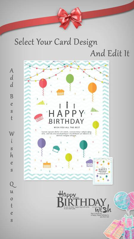 Birthday Invitation Card Maker Screenshot 3