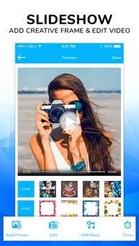 Photo video maker - Slideshow maker with music screenshot 1