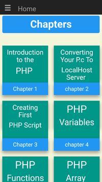PHP Teacher screenshot 1
