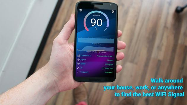 WiFi Signal Strength Meter screenshot 1