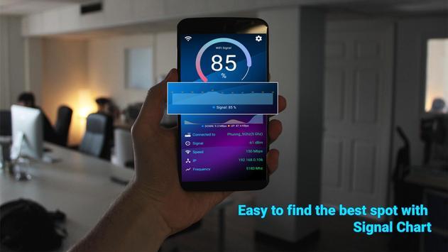 WiFi Signal Strength Meter screenshot 2