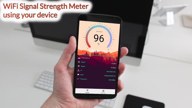 WiFi Signal Strength Meter Pro (no Ads) 포스터