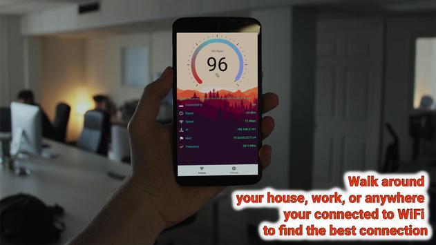 WiFi Signal Strength Meter Pro (no Ads) 스크린샷 2