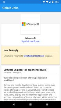 Github Jobs for Android - APK Download