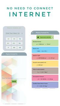 Physics Formula Pro imagem de tela 5