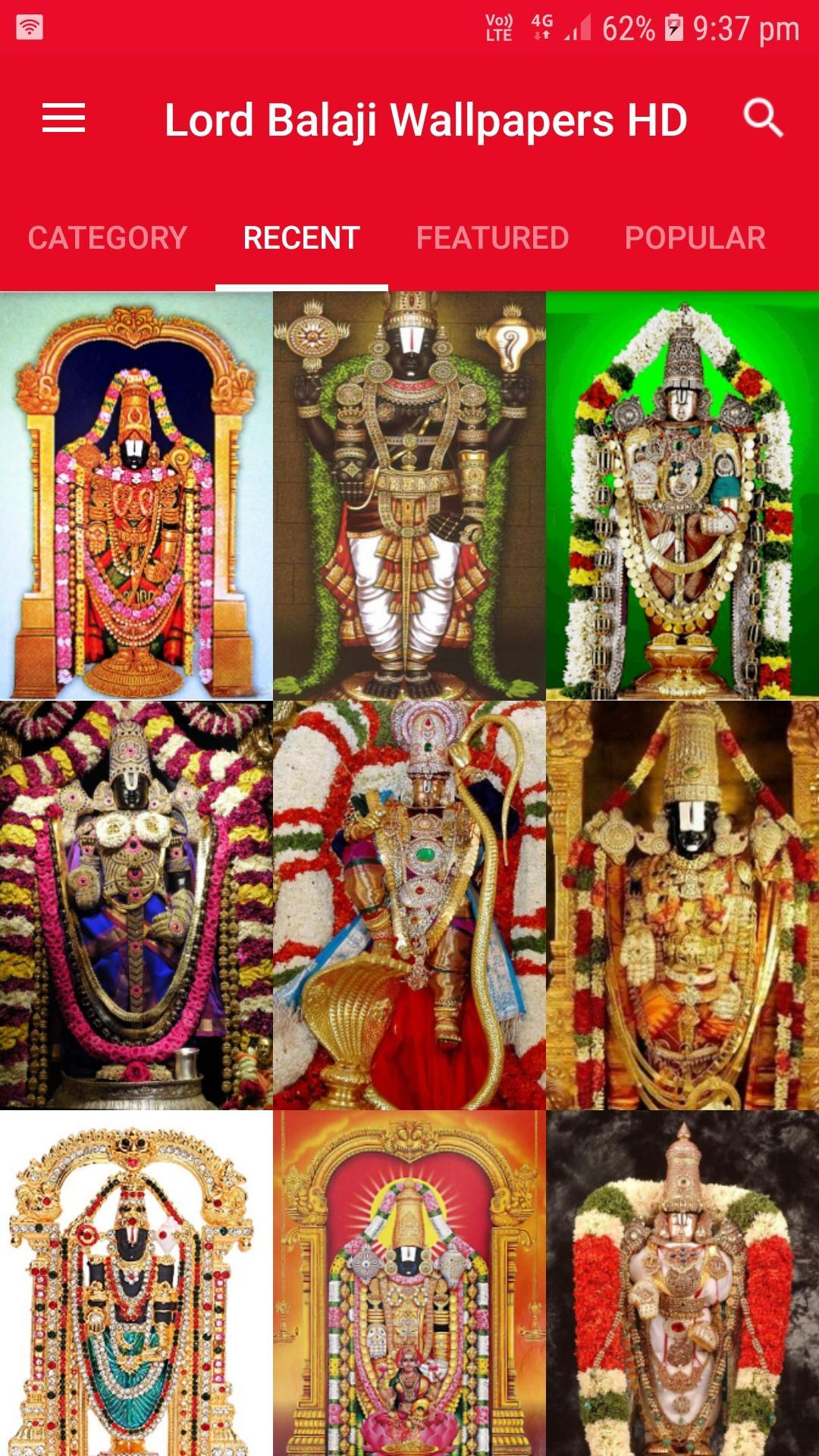 Tirupati Balaji Lord Venkateswara Hd Wallpapers For Android Apk Download