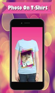 My Name Photo on Shirt – Shirt Photo Editor 2019 screenshot 3