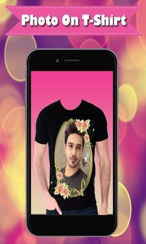 My Name Photo on Shirt – Shirt Photo Editor 2019 screenshot 1