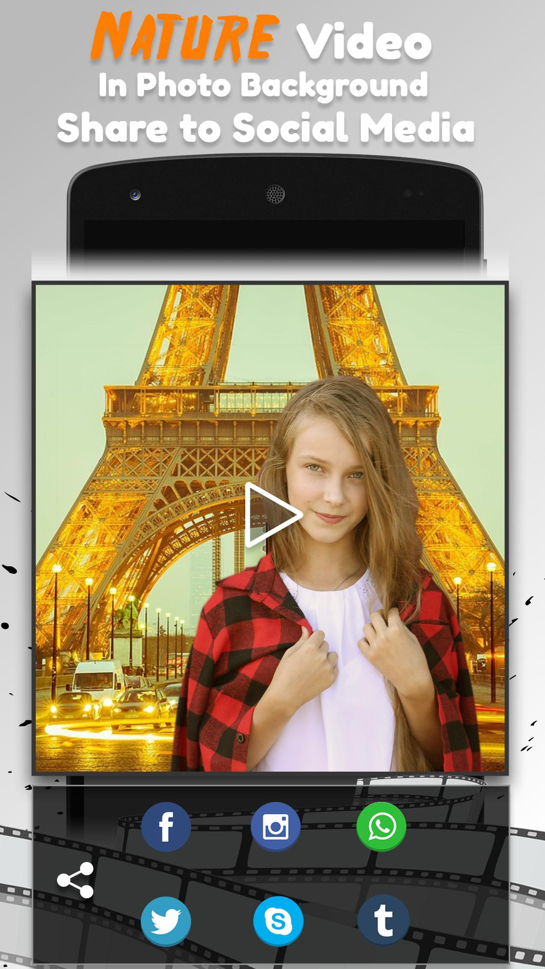 Alam Video Foto Latar Belakang Editor For Android Apk Download