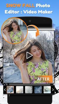 Snow Fall Photo Editor : Video Maker screenshot 6