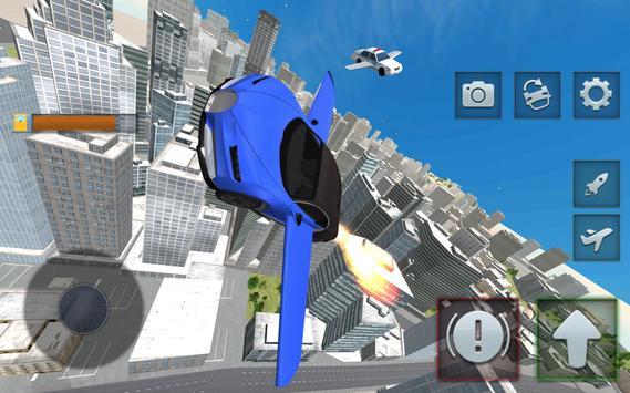 Ultimate Flying Car Simulator poster