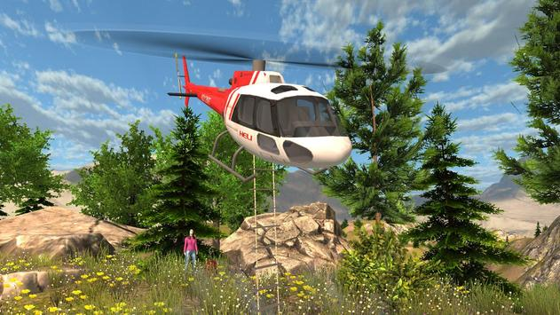 Helicopter Rescue Simulator screenshot 1