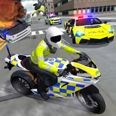 Police Car Driving - Motorbike Riding icon