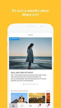 PICPOT - Photo Spot, Snap, Hot Place Navigate App poster