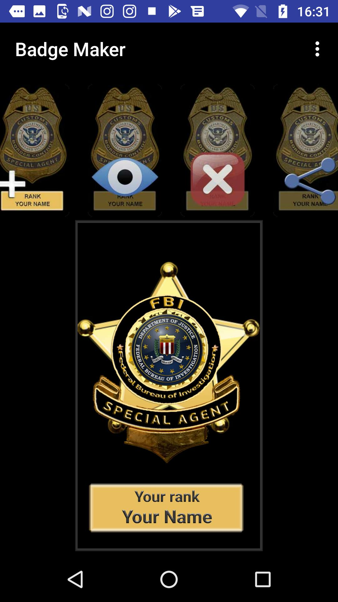 Badge Maker for Android - APK Download