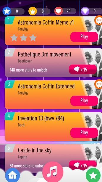 Astronomia Piano Tiles Coffin Dance Meme Hot Songs For Android Apk Download