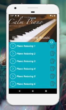 Piano Music Relaxing Mp3 screenshot 1