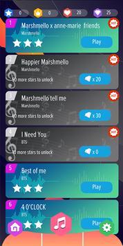 Marshmello Piano Tiles screenshot 1