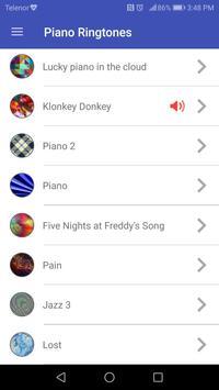 Piano Ringtones screenshot 1