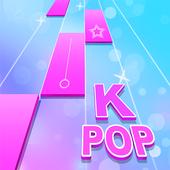 Kpop Jeux de Piano: Musique Color Tiles icône