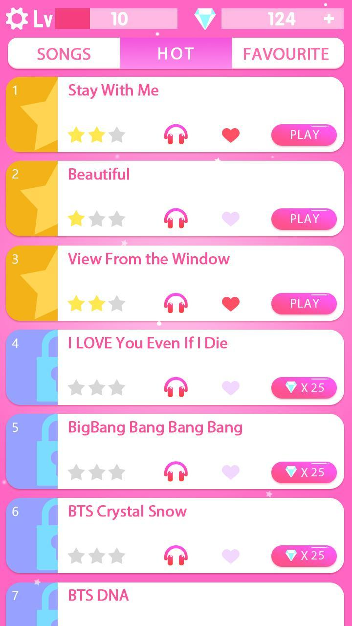 Kpop Piano Games Music Color Tiles For Android Apk Download