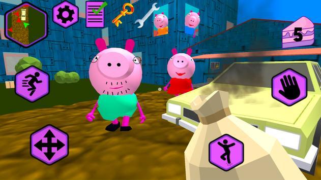 Piggy Neighbor. Family Escape screenshot 1