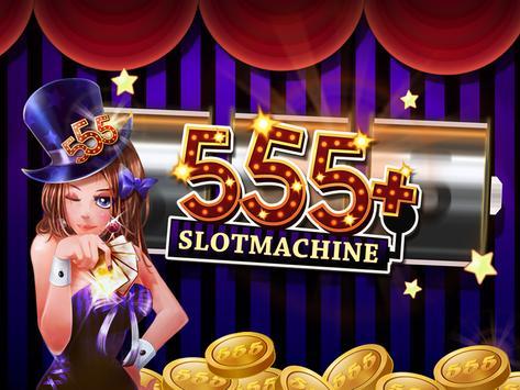 555+ SLOT MACHINES poster