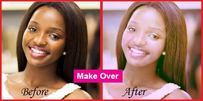 New Selfie makeup app poster
