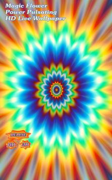 Magnificent Flower Power Pulsating poster