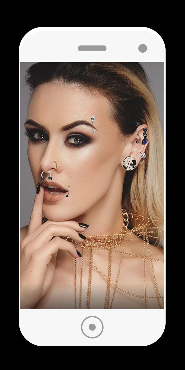 Piercing Body Salon Fake Piercings For Android Apk Download