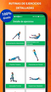 Exercises at home screenshot 6