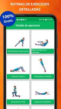 Exercises at home screenshot 20