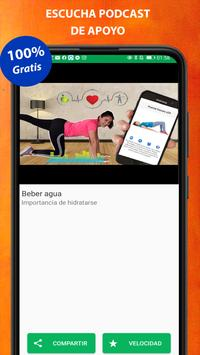 Exercises at home screenshot 8
