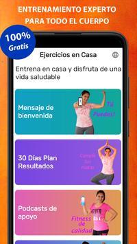 Exercises at home screenshot 10