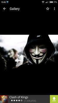 Anonymous Wallpapers HD screenshot 1