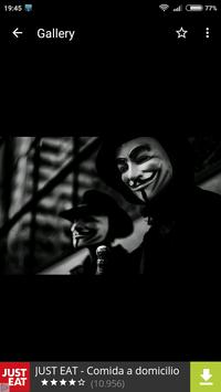 Anonymous Wallpapers HD screenshot 4
