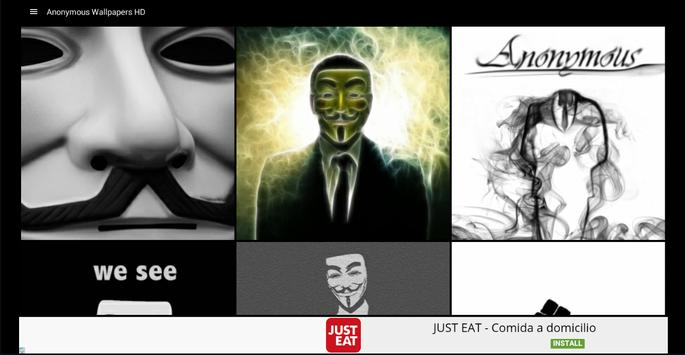 Anonymous Wallpapers HD screenshot 5