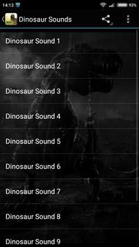 Dinosaur Sounds screenshot 1