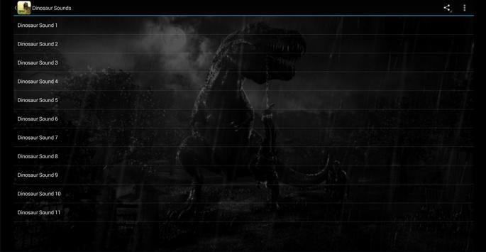 Dinosaur Sounds screenshot 5