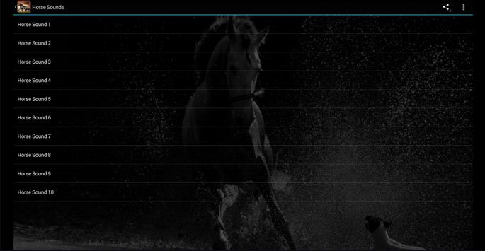 Horse Sounds screenshot 5