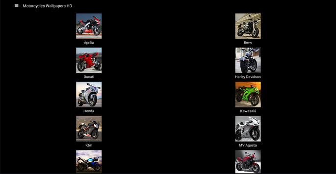 Motorcycles Wallpapers HD screenshot 5
