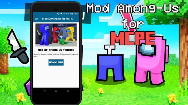Mod of Among Us for Minecraft PE screenshot 1